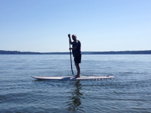 paddleboard distant